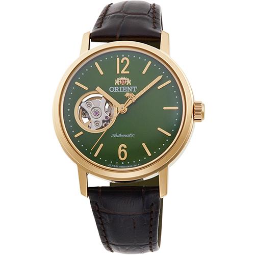 オリエント RN-AG0020E クラシック セミスケルトン 機械式時計 (レディース)