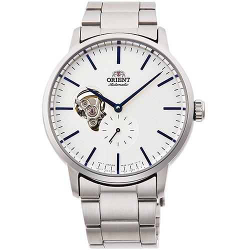 【長期保証付】オリエント RN-AR0102S 自動巻き(手巻き付き) 腕時計 メンズ