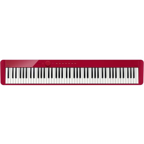 <title>在庫あり 14時までの注文で当日出荷可能 長期保証付 予約販売品 CASIO PX-S1000-RD レッド Privia プリヴィア デジタルピアノ 88鍵盤</title>