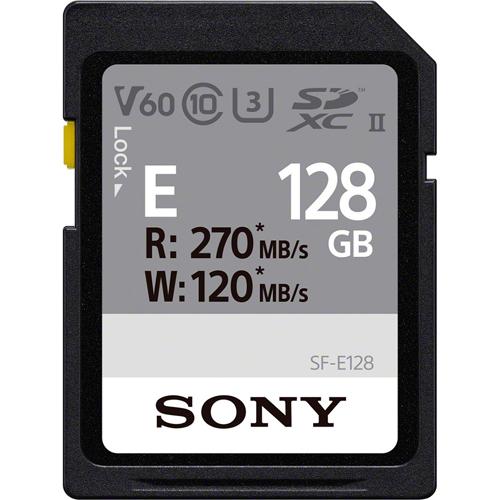 在庫あり 14時までの注文で当日出荷可能 捧呈 ソニー 好評 SF-E128 SDXC 128GB メモリーカード UHS-II