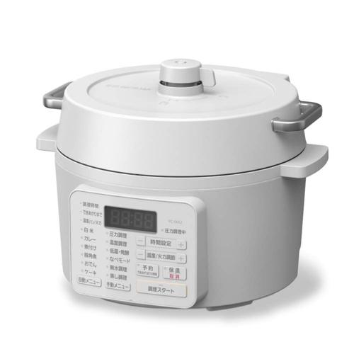 アイリスオーヤマ PC-MA2-W(ホワイト) 電気圧力鍋 2.2L