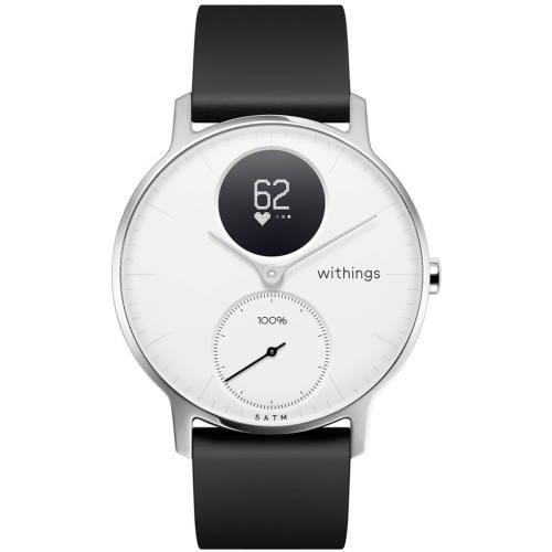 【長期保証付】Withings HWA03-36WHITE-ALL-JP(White) Steel HRスマートウォッチ 36mm
