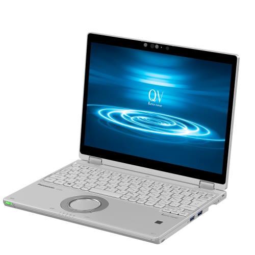 パナソニック CF-QV8FDGQR(シルバー) QV8シリーズ ノートパソコン 12.0型液晶