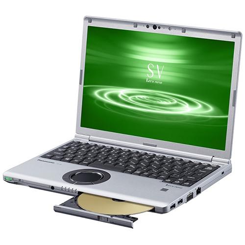 【長期保証付】パナソニック CF-SV8FDMQR(シルバー&ブラック) SV8シリーズ ノートパソコン 12.1型液晶