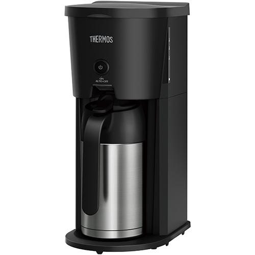 最安値 サーモス ECJ-700-BK 評価 ブラック 真空断熱ポット コーヒーメーカー