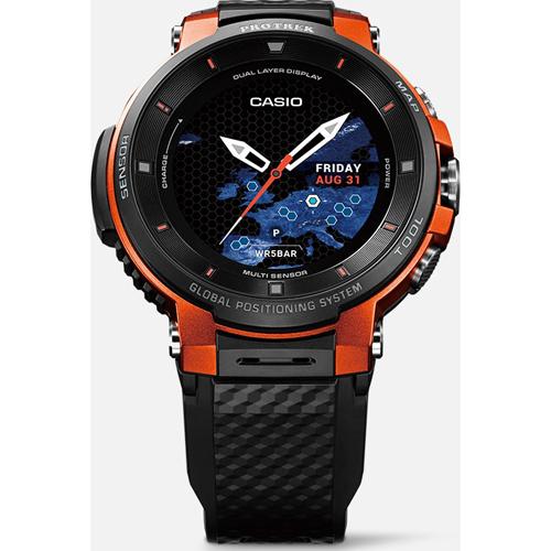CASIO WSD-F30-RG(オレンジ) Smart Outdoor Watch PRO TREK Smart