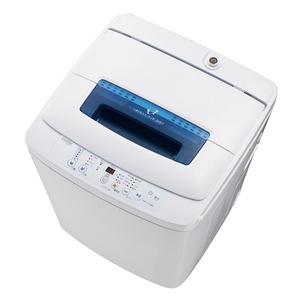 【設置】ハイアール JW-K42M-W(ホワイト) 全自動洗濯機 上開き 洗濯4.2kg/乾燥風乾燥 2kg