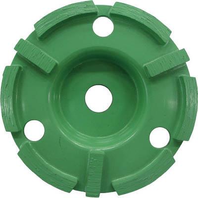 ロブテックス CDP-4 ダイヤモンドカップホイール乾式汎用品 ダブルカップ
