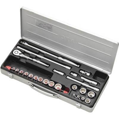 京都機械工具 TB317X 9.5sq.ソケットレンチセット[25点]