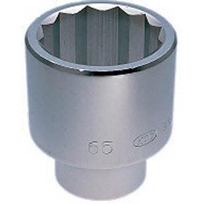 京都機械工具 B50-75 25.4sq.ソケット(十二角) 75mm