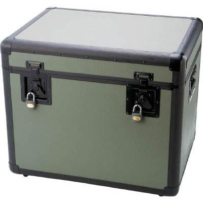 トラスコ中山 TAC-610OD 万能アルミ保管箱 オリーブドラブ 610X457X508
