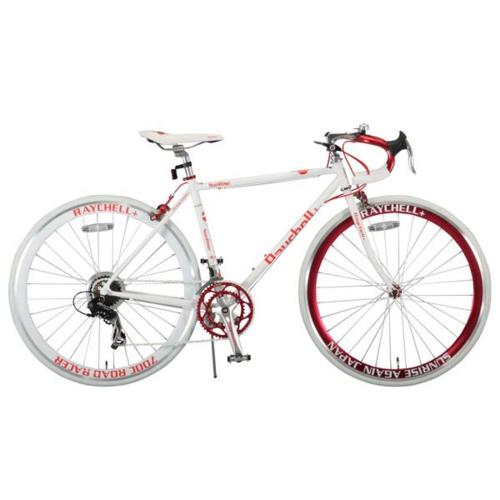 レイチェルプラス R+714 SunRise 480 700C 14段変速 ロードバイク ホワイトxレッド