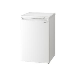 【設置+リサイクル】シャープ FJ-HS9X-W(ホワイト) 直冷式 1ドア冷凍庫 右開き 86L