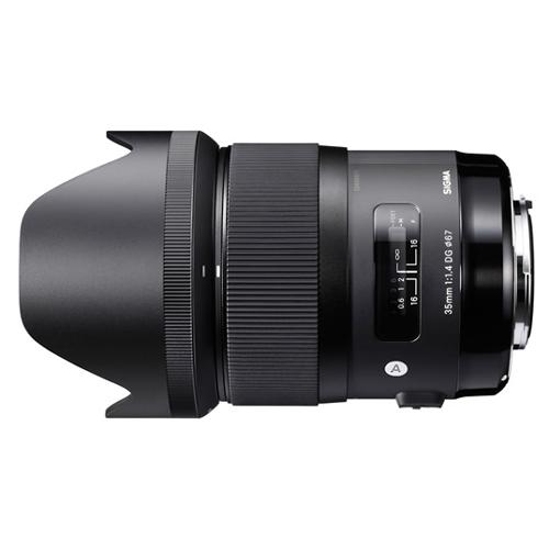 【長期保証付】シグマ 35mm F1.4 DG HSM ソニー用