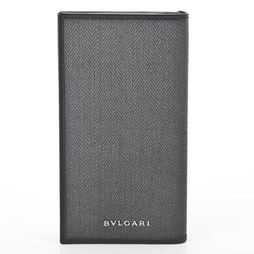 BVLGARI 32582 ブラック ウイークエンド長財布