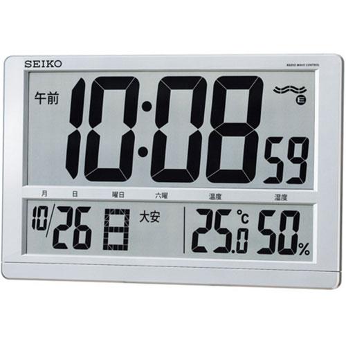 セイコー SQ433S 電波置時計