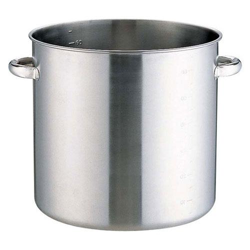 本間製作所 KO 19-0ステンレス IH対応 寸胴鍋 蓋無 40cm