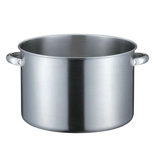 本間製作所 KO 19-0ステンレス IH対応 半寸胴鍋 蓋無 45cm