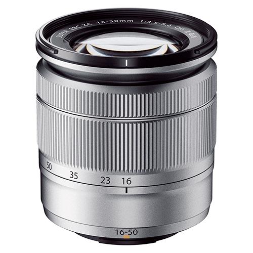 【長期保証付】富士フイルム フジノンレンズ XC16-50mmF3.5-5.6 OIS II(シルバー)