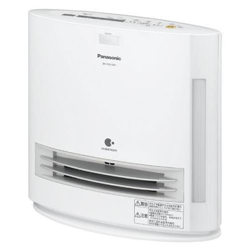 【長期保証付】パナソニック DS-FKX1205-W(ホワイト) 加湿セラミックヒーター 1250W ナノイー搭載 人感センサー付