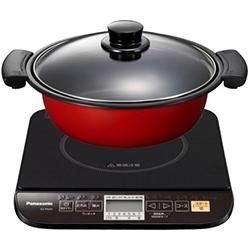 【長期保証付】パナソニック KZ-PG33-K(ブラック) 卓上IH調理器 鍋付