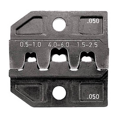 RENNSTEIG 624-050-3-0 圧着ダイス 624-050 オープンバレル平端子0.5-6.