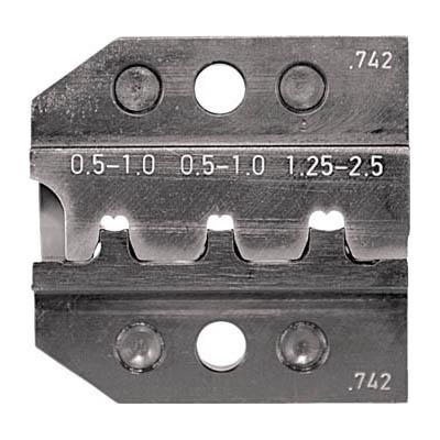 RENNSTEIG 624-742-3-0 圧着ダイス 624-742 オープンバレル接続端子 0.5-