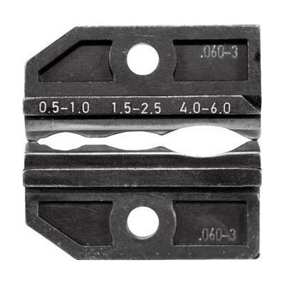 RENNSTEIG 624-060-3-3-0 圧着ダイス 624-060-3 絶縁端子0.5-6.0