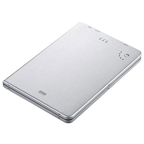 サンワサプライ BTL-RDC6N ノートパソコン用モバイルバッテリー 5200mAh