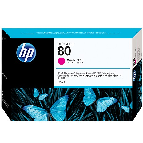 HP C4874A 純正 HP 80 インクカートリッジ マゼンタ