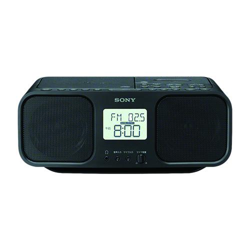 在庫�り 14時���注文�当日出��能 長期�証付 ソニー 賜物 CFD-S401 ブラック �売り B CDラジオカセットレコーダー