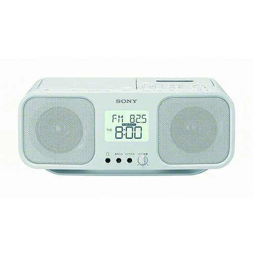 ソニー CFD-S401 W(ホワイト) CDラジオカセットレコーダー