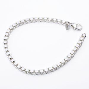 Tiffany&Co. 12607083 ベネチアンブレスレット シルバー 19cm