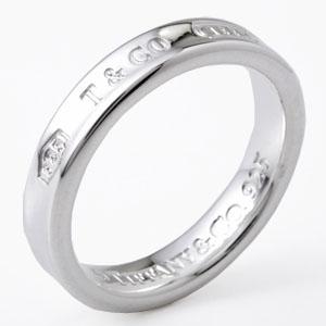 Tiffany&Co. 22993763 1837ナローリング シルバー 7号