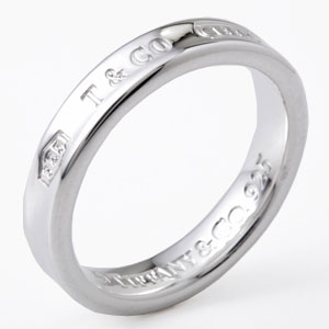 Tiffany&Co. 22993763 1837ナローリング シルバー 8号