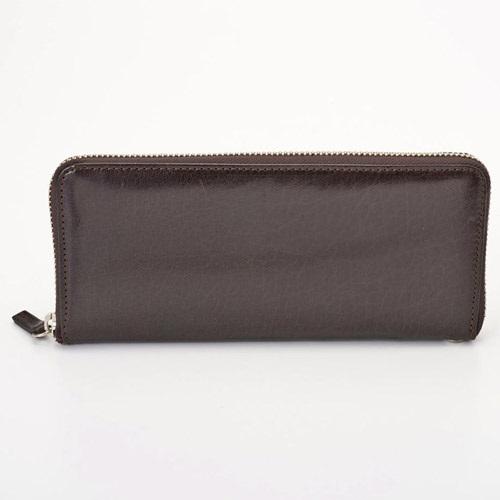 Pomerance BF12 ブラウン ベビーバッファロー 長財布