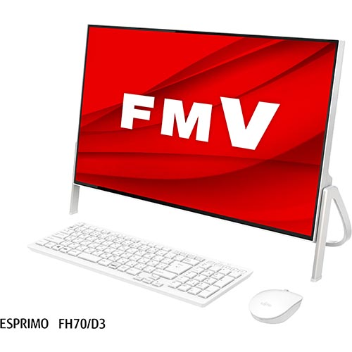 富士通 FMVF70D3W(ホワイト) LIFEBOOK FHシリーズ 23.8型液晶