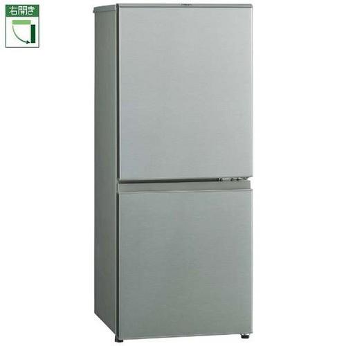 アクア AQR-13J-S(ブラッシュシルバー) 2ドア冷蔵庫 右開き 126L