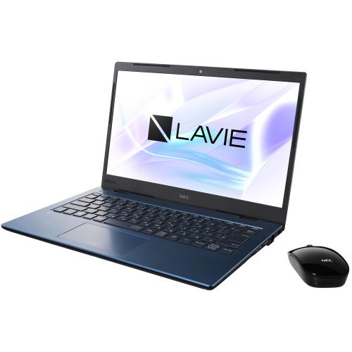 NEC PC-HM350PAL(ネイビーブルー) LAVIE Home Mobile 14型 Core i3/4GB/256GB/Office