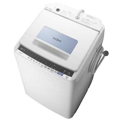 日立 BW-T806-A(ブルー) ビートウォッシュ 全自動洗濯機 上 洗濯8kg