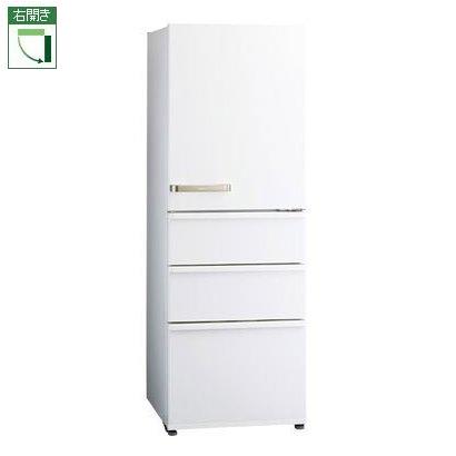 【標準設置料金込】【送料無料】アクア AQR-36J-W(ウォームホワイト) 4ドア冷蔵庫 右開き 355L[代引・リボ・分割・ボーナス払い不可]
