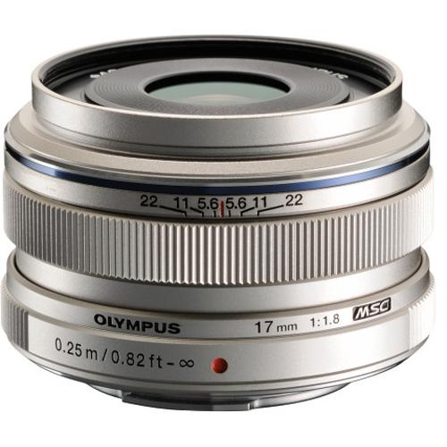 オリンパス M.ZUIKO DIGITAL 17mm F1.8(シルバー)
