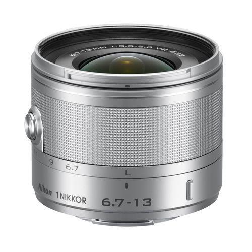 【長期保証付】ニコン 1 NIKKOR VR 6.7-13mm f/3.5-5.6(シルバー)