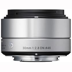 【長期保証付】シグマ 30mm F2.8 DN(シルバー) マイクロフォーサーズ用