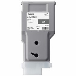 CANON PFI-206GY 純正 インクタンク グレー