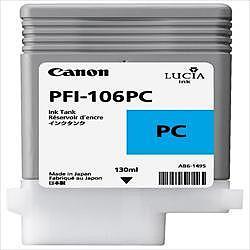 CANON PFI-106PC 純正 インクタンク フォトシアン