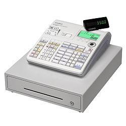 【長期保証付】CASIO TE-3500-20M 電子レジスター ネットレジ 20部門 ホワイト