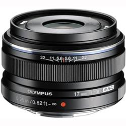 【長期保証付】オリンパス M.ZUIKO DIGITAL 17mm F1.8(ブラック)