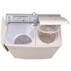 【設置+長期保証】日立 PA-T45K5-CP(パインベージュ) 二槽式洗濯機 洗濯4.5kg/脱水5.0kg
