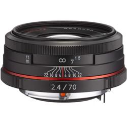 【長期保証付】ペンタックス HD PENTAX-DA 70mmF2.4 Limited(ブラック)